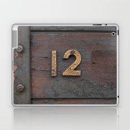 Number Twelve Laptop & iPad Skin