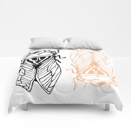 Cicadas on the Scribbly Gum Comforters