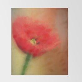 Poppy Elegance Throw Blanket