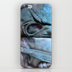 Blue blue iPhone & iPod Skin