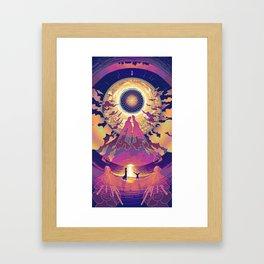 Neuromancer : Babylon Framed Art Print