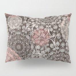 HAPPY GO LUCKY - BOHO WOOD Pillow Sham