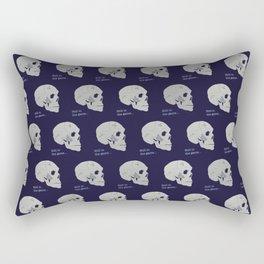 Still in the game Rectangular Pillow