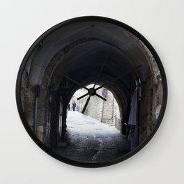 Old tunnel Wall Clock