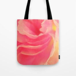 Curling blossom Tote Bag