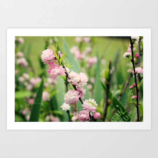 The Best Things in Life are Pink Art Print