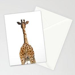 Giraffe Butt Stationery Cards