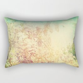 Vintage Wisteria Rectangular Pillow