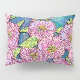 Hollyhocks Pillow Sham