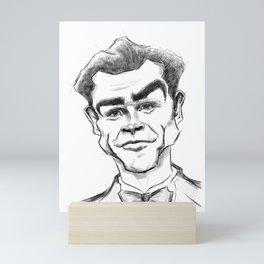 Sean Connery - Original Caricture Mini Art Print