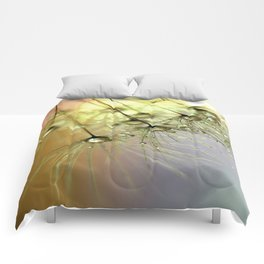 Dandelion & Droplets Comforters