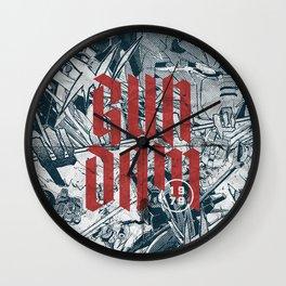 Gundam Wall Clock