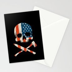 American P$yscho Stationery Cards
