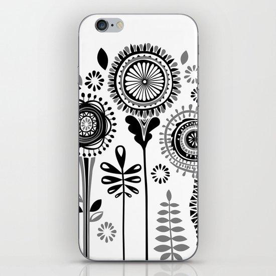 Folksy Flowerheads iPhone & iPod Skin