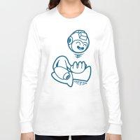 mega man Long Sleeve T-shirts featuring Mega Man by La Manette