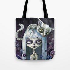 Felina de los muertos Tote Bag