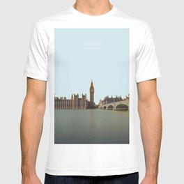London, England Travel Artwork T-shirt