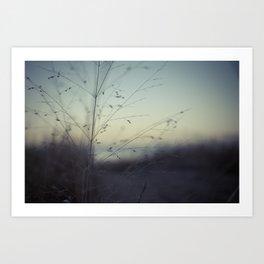 Dunes of Erie Art Print