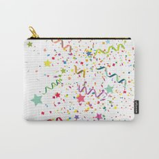 Wishes as Confetti / New Years Confetti. Carry-All Pouch