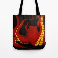 general Tote Bags featuring General by Jules Marie