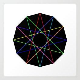 modulo 12 Art Print