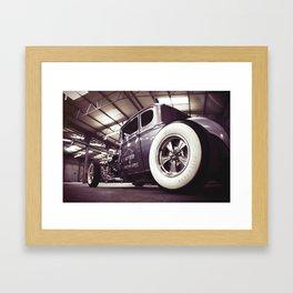 Hot Rod Framed Art Print