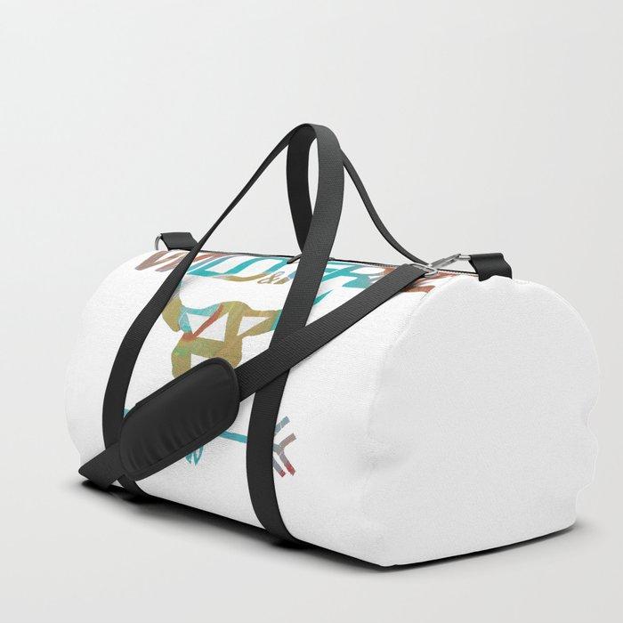 WILD   FREE Duffle Bag by harperroseprintworks  077895ac7be76