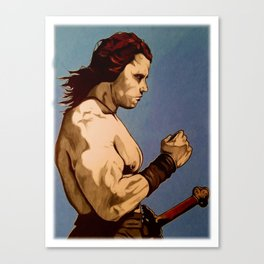 Conan The Barbarian Canvas Print