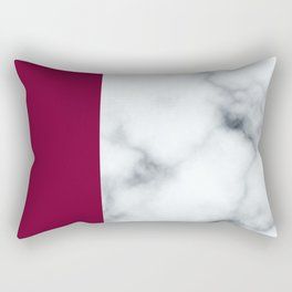 Berry Marble Rectangular Pillow