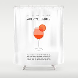 How to make the perfect Aperol Spritz  Shower Curtain