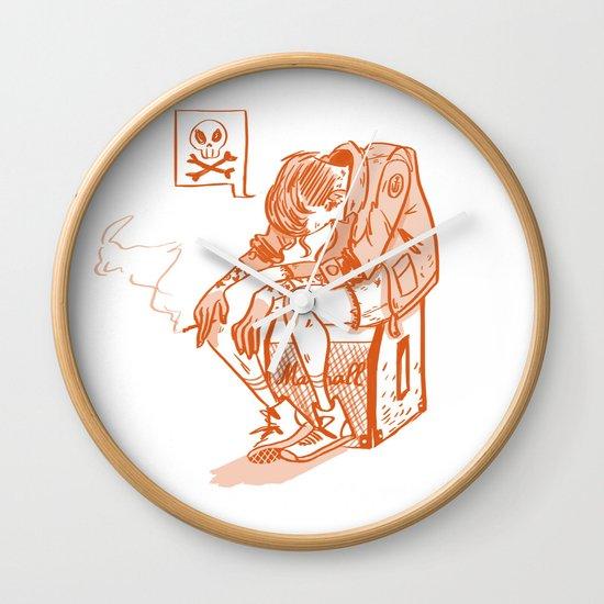 Chico Sad Wall Clock