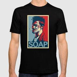 """Tyler Durden """"Hope"""" Poster T-shirt"""