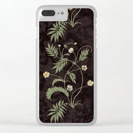Promises in a poppy Clear iPhone Case