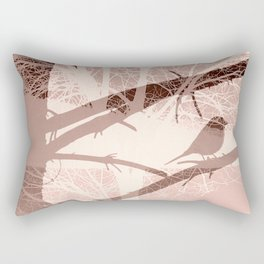 Bird tree Rectangular Pillow