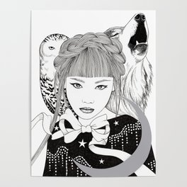 Silver Moon Poster