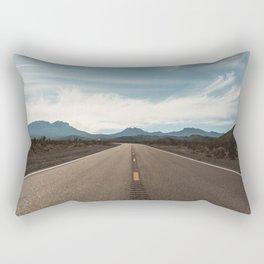 Vanishing Road Rectangular Pillow