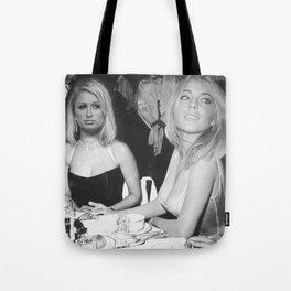 FEUD: Paris and Lindsay Tote Bag