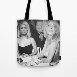 FEUD: Paris and Lindsay Tote Bag