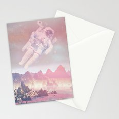 Cosmic Landing Stationery Cards
