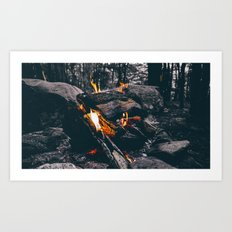Burn Brightly Art Print