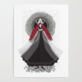 Morena - Slavic Goddess of winter and rebirth of nature Poster