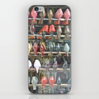 shoes iPhone & iPod Skins featuring Shoes by Berlin Kunst