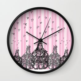 Bottles of Love Wall Clock