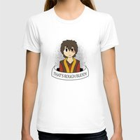 zuko T-shirts featuring That's Rough Buddy by CorgiBlue
