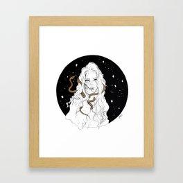 Cosmic Snake Pt. 2 Framed Art Print