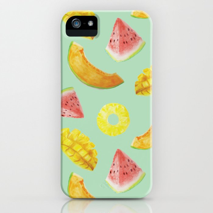 Nature's Candy Pattern iPhone Case