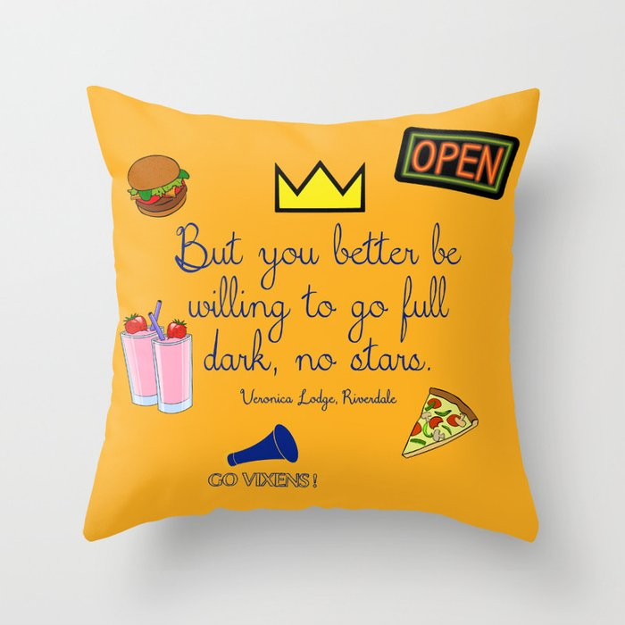 Riverdale Throw Pillow By Acciomysticmoon Society40 Unique Riverdale Decorative Pillows
