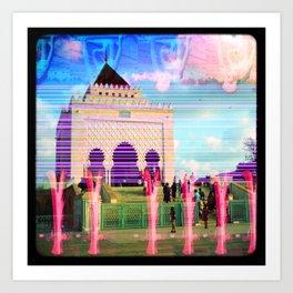 Culture Clash #17 Art Print