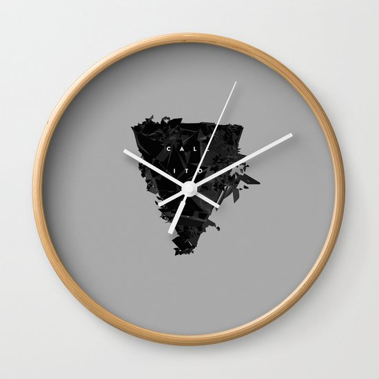 Call It Off Wall Clock