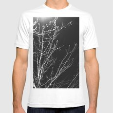 Into the Woods MEDIUM White Mens Fitted Tee
